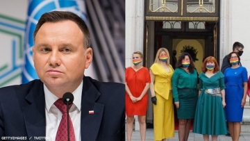 Terrified Queers Flee, Politicians Protest Polish President's Homophobia