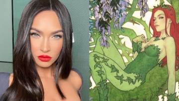 megan fox and poison ivy