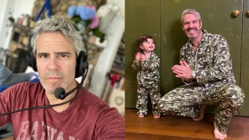 Andy Cohen and Benjamin.
