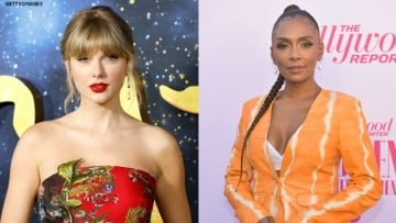 Red carpet photos of Taylor Swift and Janet Mock.