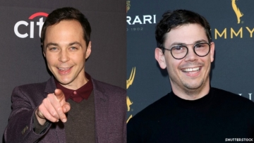 Jim Parsons and Ryan O'Connell.