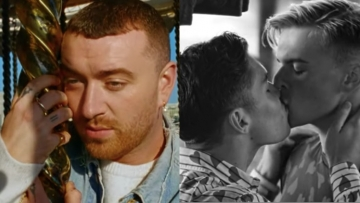 Sam Smith in Kids Again video