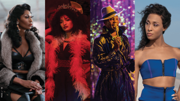 four characters from Pose
