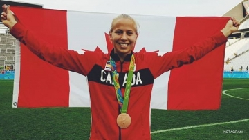 Canadian soccer star Rebecca Quinn just came out as trans with a message for cis folks