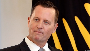 GLAAD delivers devastating video response to Richard Grenell's speech claiming Trump is pro-LGBTQ+ president.