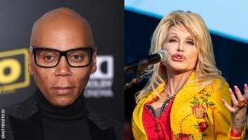 RuPaul and Dolly Parton