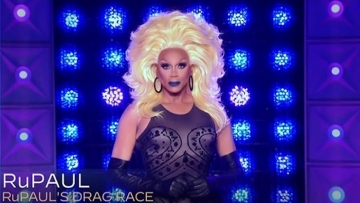 RuPaul at the Emmys