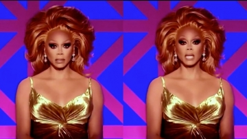 RuPaul at the WOWIES and Drag Race UK look.