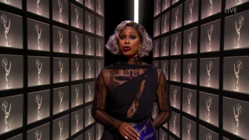 Laverne Cox at the 2020 Emmys