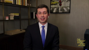 Pete Buttigieg on Jimmy Fallon