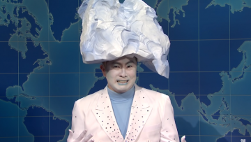 Bowen Yang as iceberg from SNL