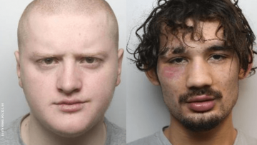 Two men who killed a gay man.