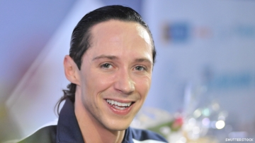 Johnny Weir in a photo.