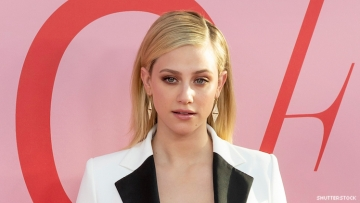Lili Reinhart on red carpet