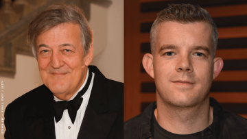 Stephen Fry and Russell Tovey