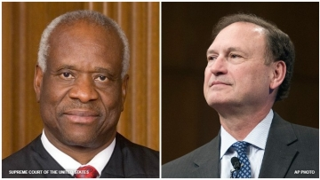 Associate Justices Thomas and Alito cast doubt on future of marriage equality with dissenting opinion.