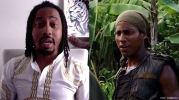 brandon t jackson tropic thunder big mommas house bible god punished punishment play playing portray portraying gay character role lgbt lgbtq acting movie film hollywood star