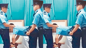 Hong Kong Police Arrest Two Men for 10-Second Gay Fake Cop Porn