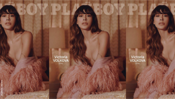 Victoria Volkova on the cover of Playboy
