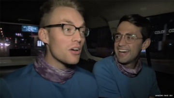 Will and James of 32nd The Amazing Race in Paris
