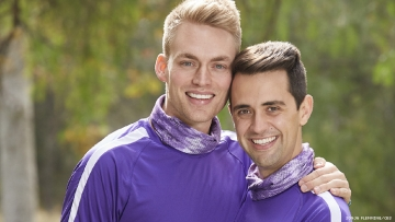 Amazing Race competitors and gay couple Will and James