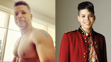 Wilson Cruz and Rickie Vasquez from 'My So-Called Life'