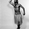 Unknown with Grass Skirt, Los Angeles, c. 1950
