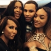 Rousteing With Iman, Naomi Campbell & Jourdan Dunn