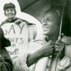 Kady Vandeurs And Marsha P. Johnson, photographed by Diana Davies, 1971. Courtesy of New York Public Library Archives.