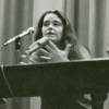 Kate Millett comes out as bisexual. Courtesy of New York Public Library Archives.