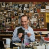 John Waters, Filmmaker, in his Baltimore Home Office