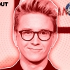 37. Tyler Oakley, Social-Media Personality, Activist. Read more below.
