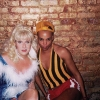 RuPaul with Lady Bunny at New York's Pyramid club, 1987