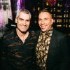 OUT Editor-in-Chief Aaron Hicklin and EVP Publishing for Pride Media Joe Landry