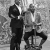 Kehinde Wiley (Left)
