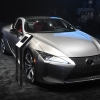 Lexus on display at the OUT Fashion Vanguard Awards