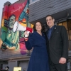 Christine Pelosi and Stuart Milk