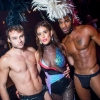 The glitzy Los Angeles queer party had a grand reopening at a new venue, Nightingale. Read more below.
