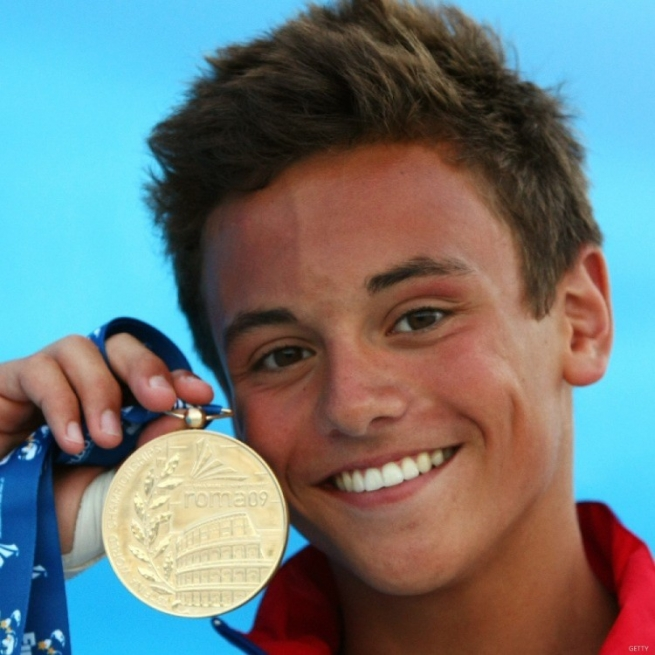 Out Magazine is Celebrating Tom Daley's 27th Birthday With a Few Our Favorite Pics From Over the Years