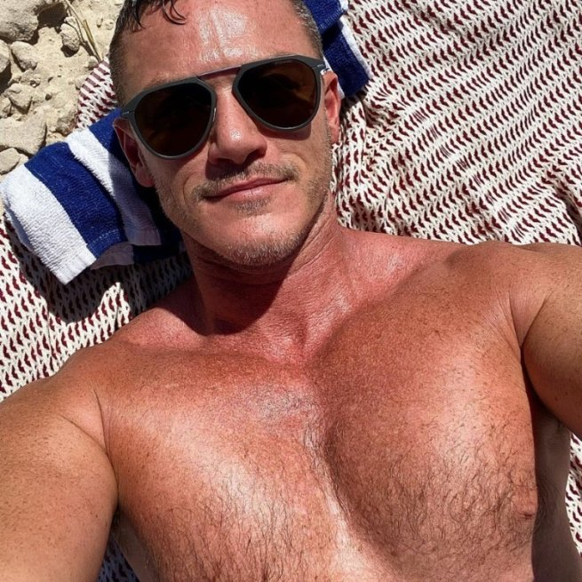 Take a Long Drink of These Thirsty Pics of Luke Evans in Honor of His Birthday