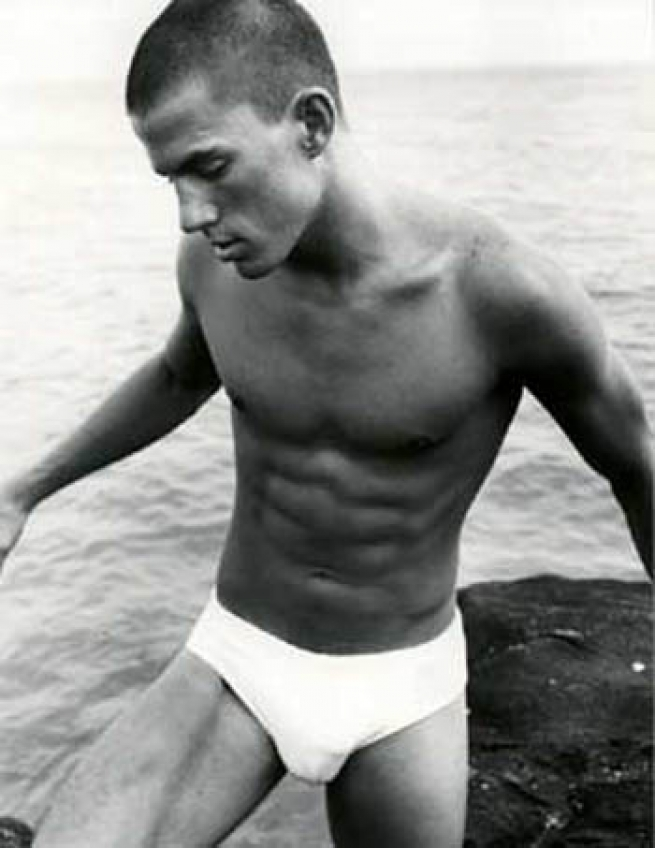 Channing Tatum for Abercrombie & Fitch, 2001