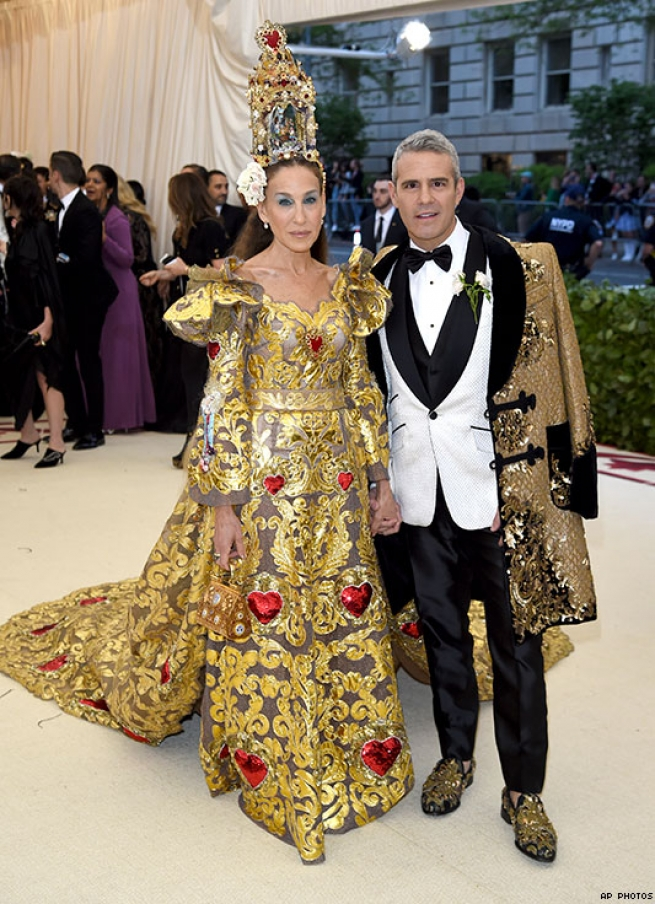 Sarah Jessica Parker and Andy Cohen Met Gala 2018