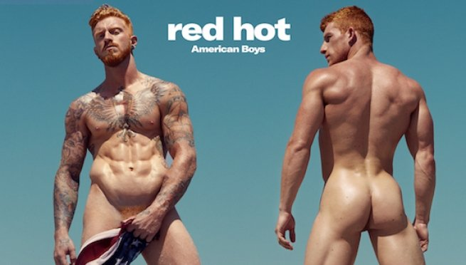 Here's A Peek at the 'Red Hot American Boys' Calendar