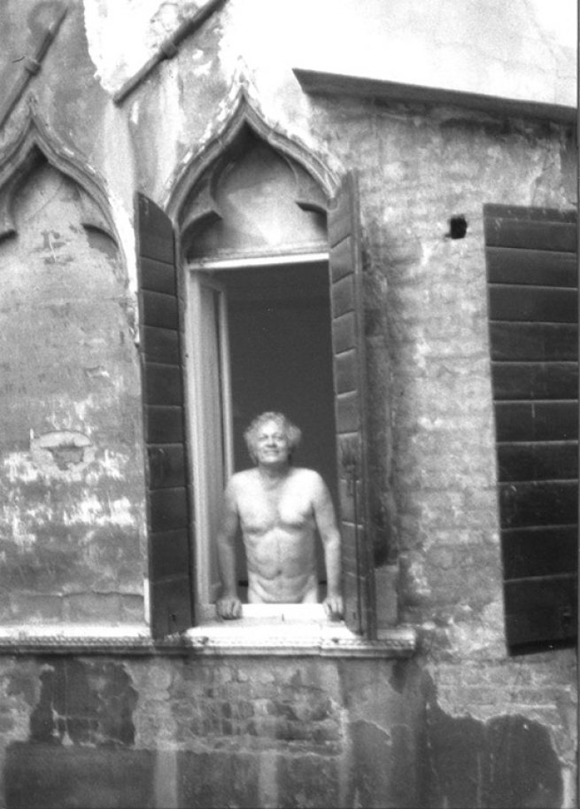 6. Scotty Bowers in Venice, Italy in the 1980s