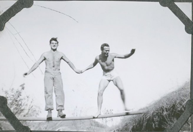 1. Scotty Bowers with a friend in the 1940s