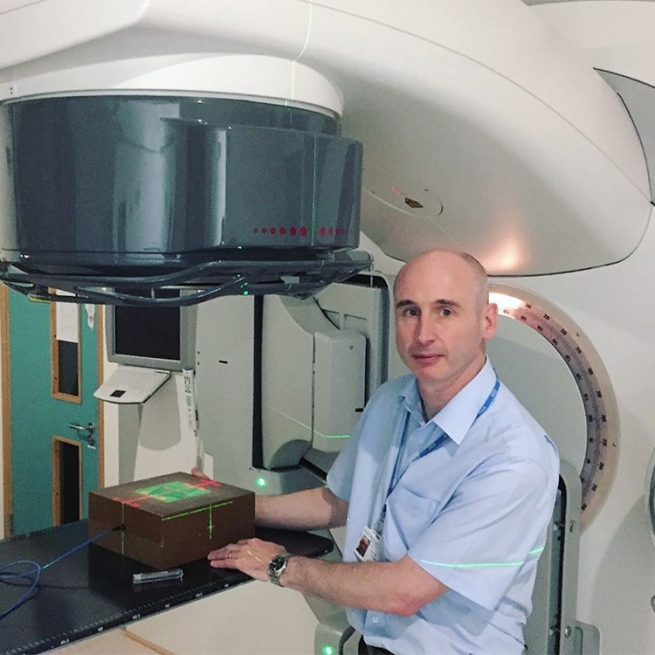 """Robert Farley: """"I am gay and I am a medical physicist specializing in radiotherapy physics."""""""
