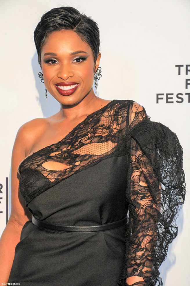 "Jennifer Hudson singing ""I Will Always Love You"" at the Grammys"