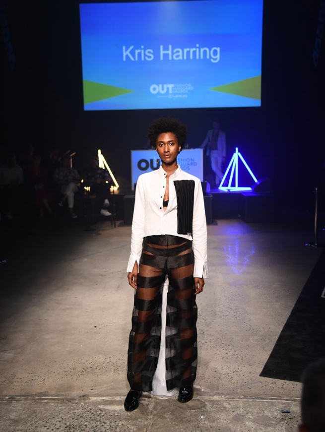 Looks from Kris Harring's collection.