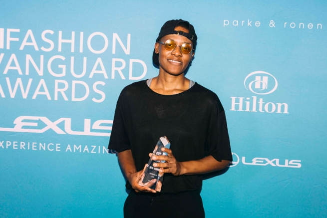 Kris Harring is named the 2018 OUT Fashion Vanguard.