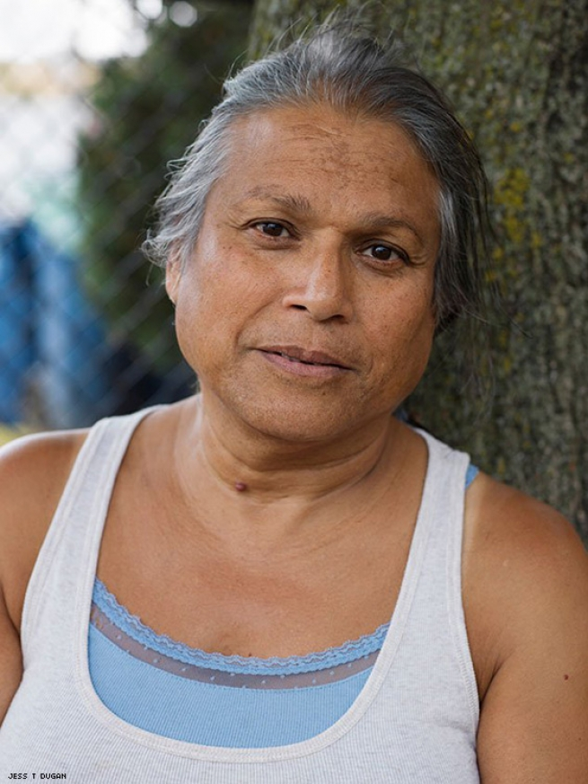 Alexis, 64, Chicago, IL, 2014 Image courtesy of projects+gallery and Jess T. Dugan.